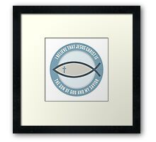 Christian Believers Framed Print