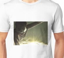 Swimming in the sunlight.....self portrait Unisex T-Shirt