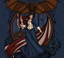 Elizabeth Nouveau by Karen  Hallion