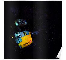 Wall-E in Space! Poster