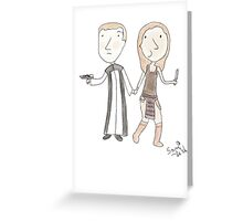 Do Not Be Afraid, Narvin, I Shall Protect You Greeting Card