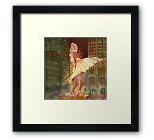 Marilyn Monroe - Chicago, study. Framed Print