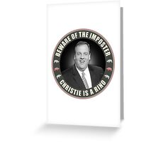 Christie Is A RINO Greeting Card