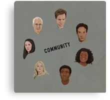 Community Simple Canvas Print