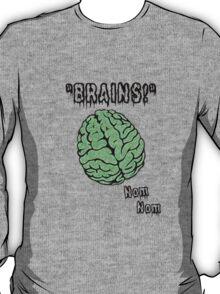 Brains! Zombie Apparel T-Shirt