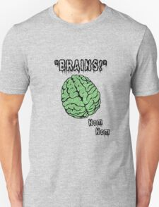 Brains! Zombie Apparel Unisex T-Shirt