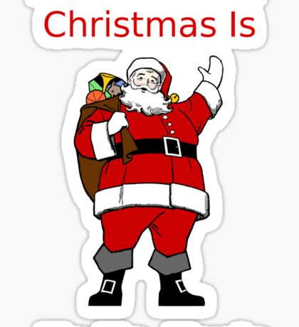 All I Want For Christmas Sticker