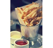 Parmesan Truffle French Fries Photographic Print