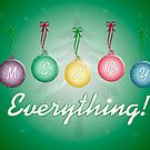 Merry Everything by bicyclegirl