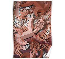 Maori Dancers Poster