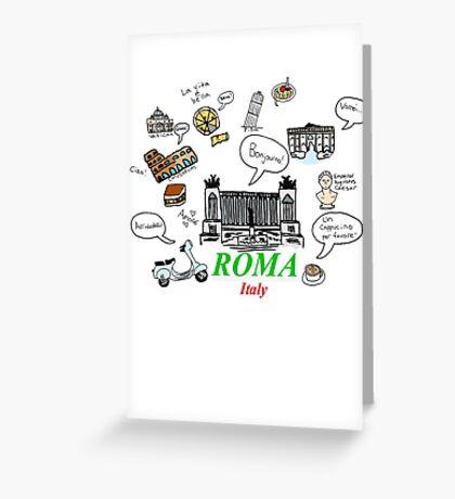 Roma, Italy Greeting Card