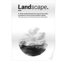 Luke Roberts / Landscape / Cross Hatch Poster