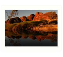 Refections on the Past Art Print