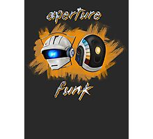Aperture Funk - Orange Photographic Print