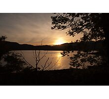 Bute Sunset Photographic Print