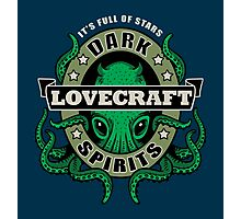 Lovecraft Dark Spirits - dark print Photographic Print