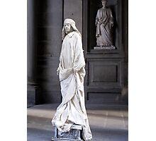 The Draped Man Of The Uffizi Photographic Print