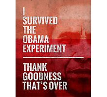 The Obama Experiment Photographic Print