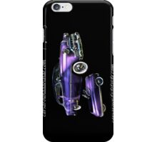 Purple Chevrolet Hot Rod with Baby iPhone Case/Skin