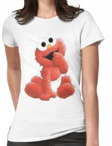 BABY ELMO Womens Fitted T-Shirt