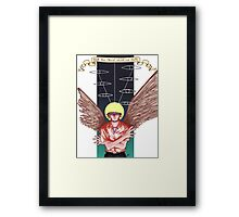Neon Genesis Evangelion: Kaworu Nagisa- Tabris Framed Print