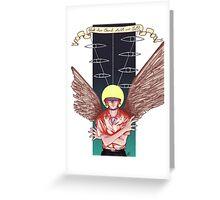 Neon Genesis Evangelion: Kaworu Nagisa- Tabris Greeting Card