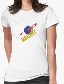 ROCKET VINTAGE 2 Womens Fitted T-Shirt