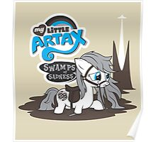 My Little Artax Poster
