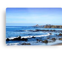 Lighthouse in the Distance Metal Print