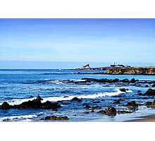 Lighthouse in the Distance Photographic Print