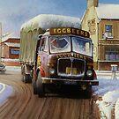 AEC lorries by Mike Jeffries