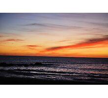 Moonstone Sunset Photographic Print