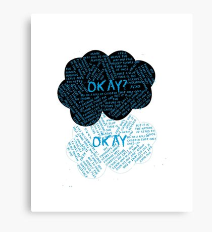 The Fault In Our Stars Canvas Print