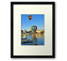 Sunday Morning Balloons Framed Print