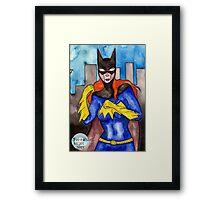 Gotham Babe #3 Framed Print