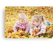 Autumn Princesses Canvas Print