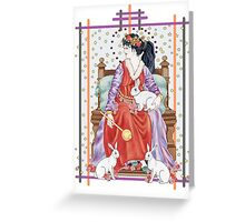 The Tarot Empress Greeting Card