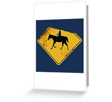 [Sleepy Hollow] - The Headless Horseman Greeting Card