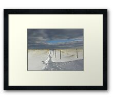 Where are you going? Framed Print