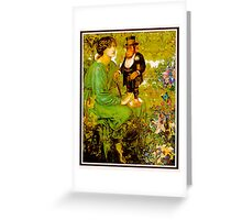 Beauty and The Beast. Greeting Card
