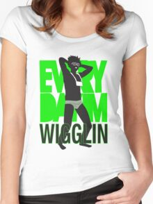 Every Day I'm Wigglin Women's Fitted Scoop T-Shirt