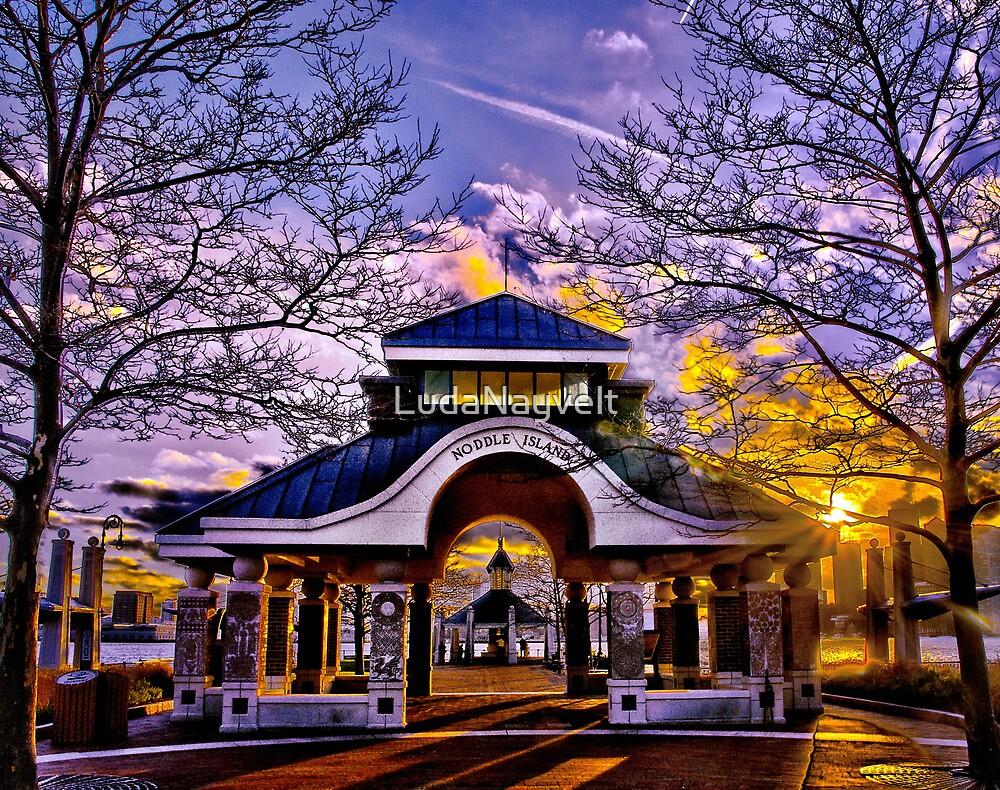Noddle's Island Pavilion, East Boston  by LudaNayvelt