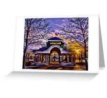 Noddle's Island Pavilion, East Boston  Greeting Card