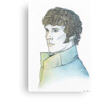 Benedict Cumberbatch [watercolours] Canvas Print