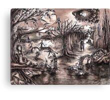 Ink World Canvas Print