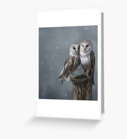Silent Watchers Greeting Card