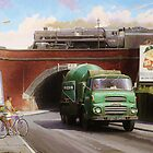 Albion truck mixer by Mike Jeffries