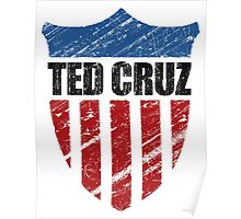 Ted Cruz Patriot Shield Poster