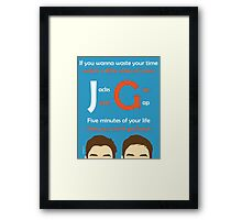 JacksGap Theme Song Framed Print