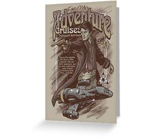 Adventure Cruises Parody Greeting Card